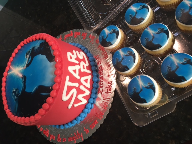 starwars and cupcakes