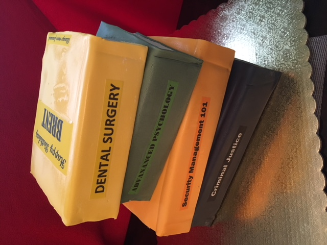 Brents Stack of Books