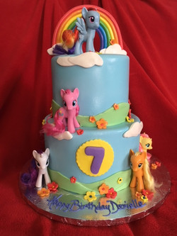 My Little Pony Tiered