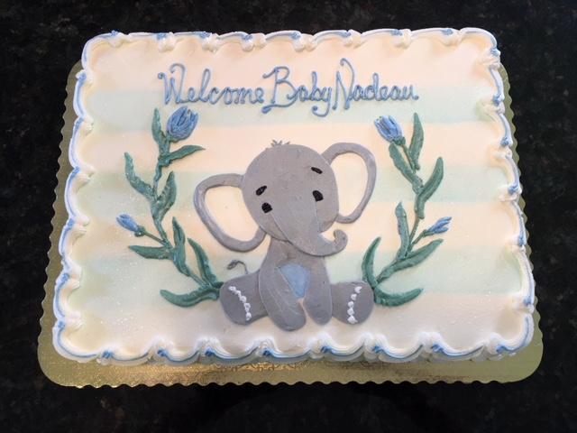 Baby Elephant Invite