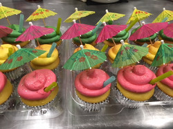 Tropical Drink Cupcakes