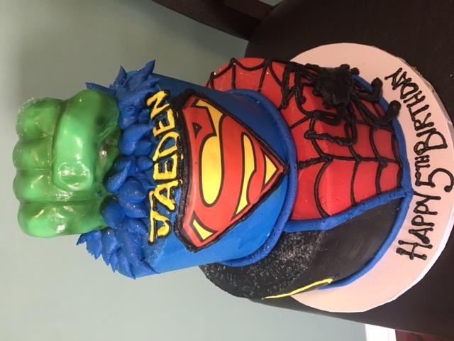 Hulk Fist and Superheros