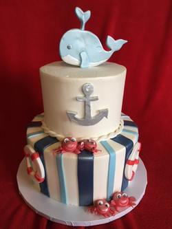 Jamie's Nautical Shower