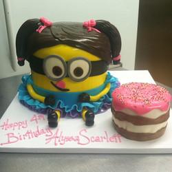 birthday minion gurl