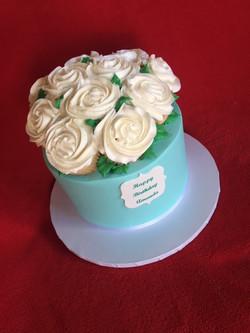 Rosette Cupcake Topper