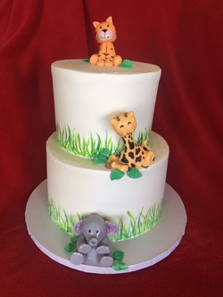 Wild Animal Baby Shower