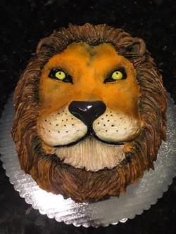 Lion Grooms Cake