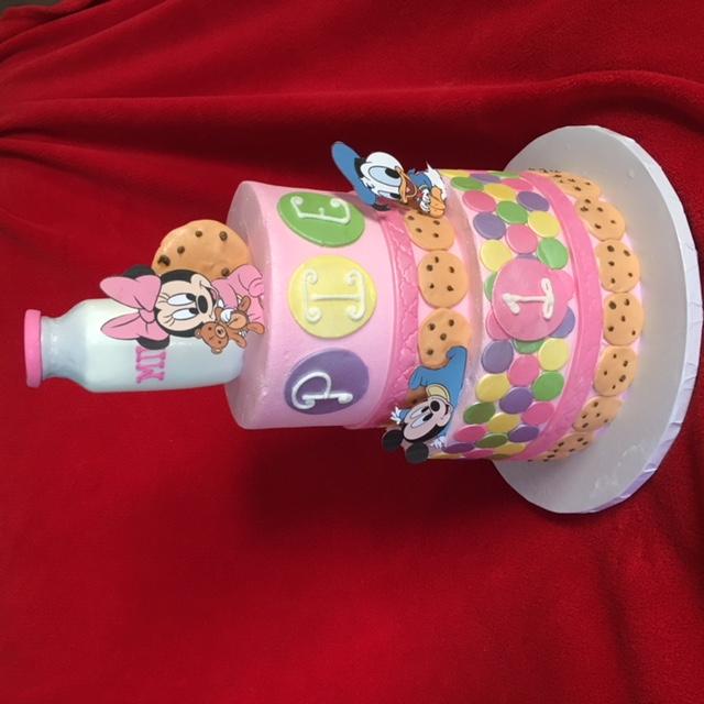 Minnie with Cookies n Milk