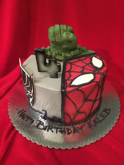 Avengers Hulk Spiderman Black Panther