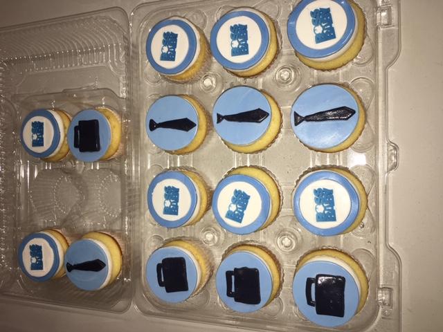 Boss Baby Cupcakes