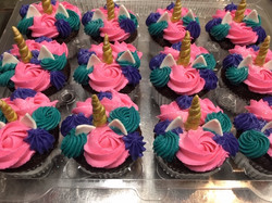 Unicorn Cupcakes Again