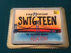 SWT6TEEN License Plate