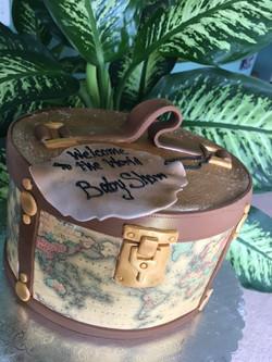 Around the World Suitcase