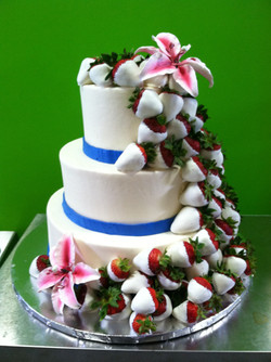 Strawberries and Orchids