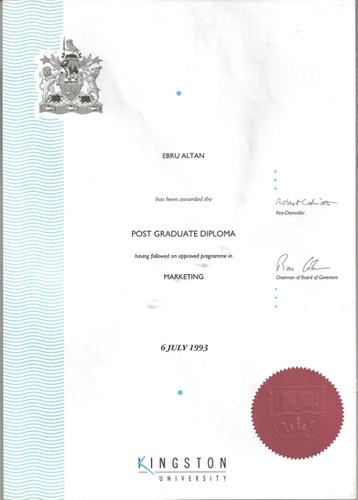 Yüksek Lisans Diploması