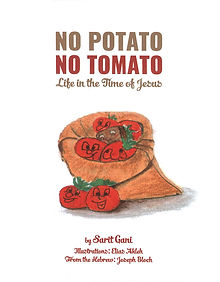 NO POTATO NO TOMATO book cover