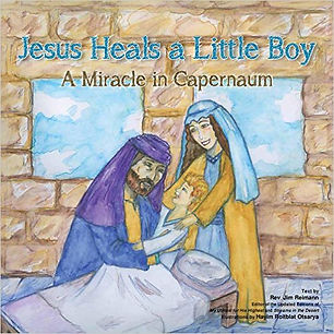 Jesus heals a little bot book cover