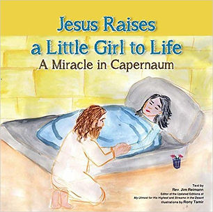jesus raises a little girl to life