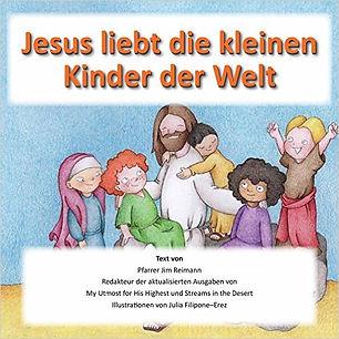 Jesus liebt die kleinen Kinder der Welt