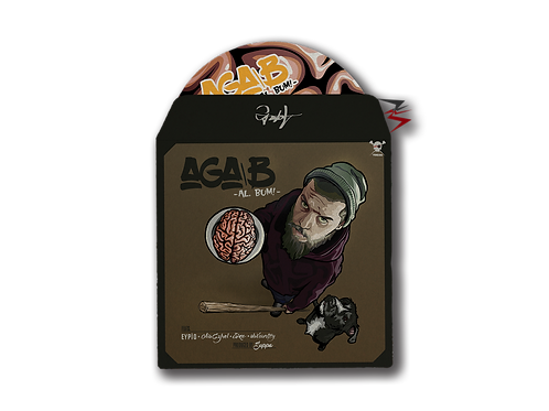 Aga B - Al, Bum (CD + 3 Sticker)