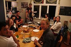 Social dining area