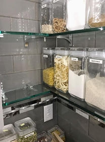 Custom Cut Glass Shelves