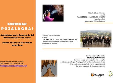 celebra el 62.Aniversario de la cueva de pozalagua