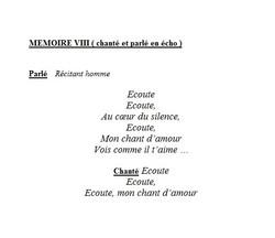 mémoires 8