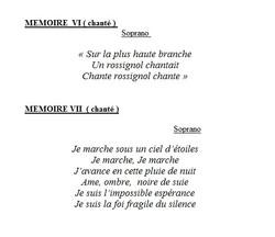 mémoires 6 7