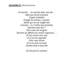 mémoires 4