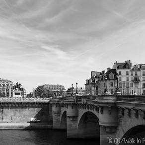 Le Pont-Neuf et ses mascarons
