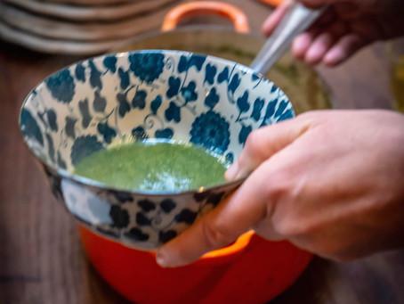 La soupe à l'ortie