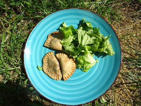 Empanadas aux plantes sauvages
