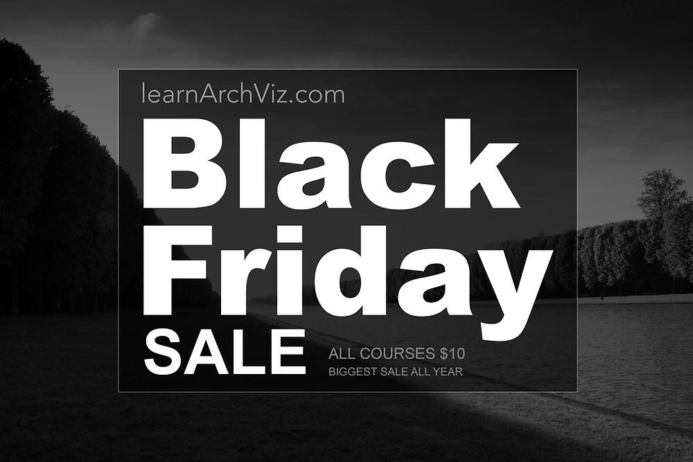 black friday arch viz sale
