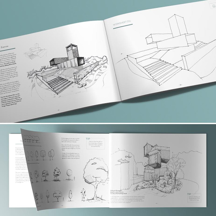 Become better at sketching - Sketch Like an Architect!