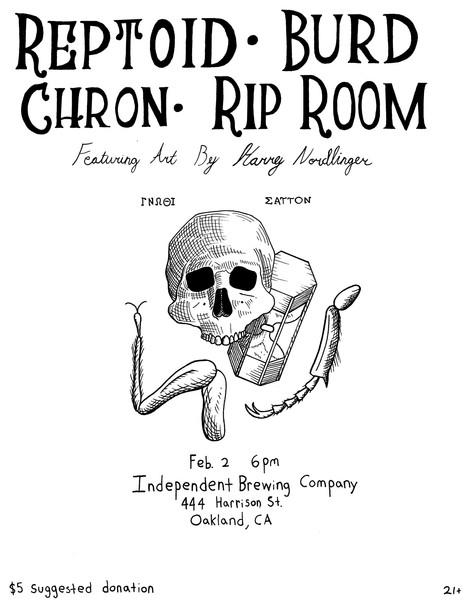 Poster design for Reptoid