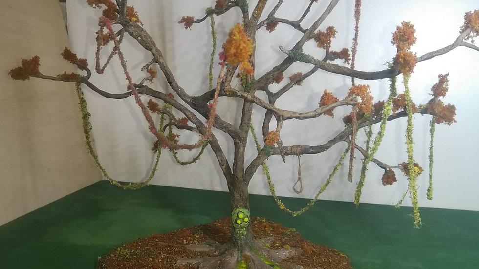 Nurgle-diseased tree