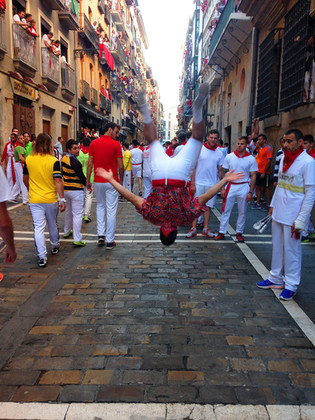 Pamplona flip