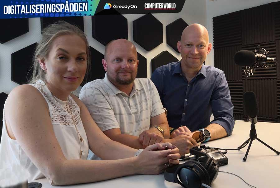 Fra venstre: Sunniva Rose, Dag Rustad og Jens Christian Bang