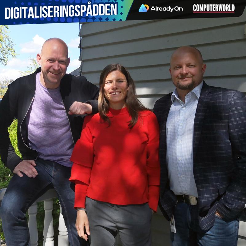 Gabriella Larsson er gjest i Digitaliseringspådden