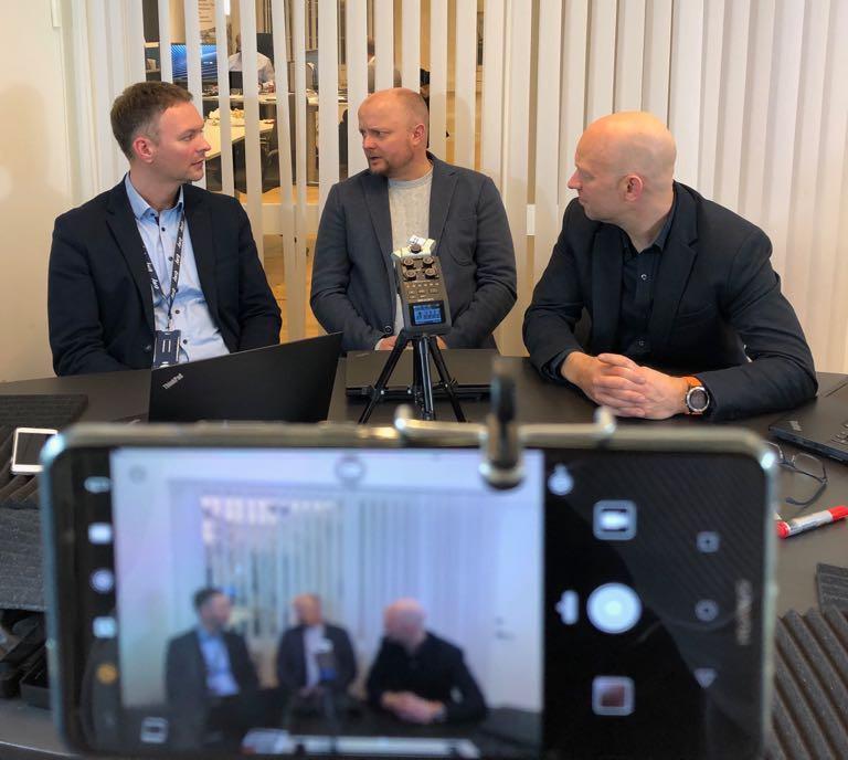 Gard Heiaas fra Evry er gjest i Digitaliseringspådden.