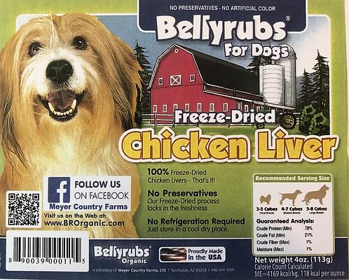 Freeze-Dried Chicken Liver