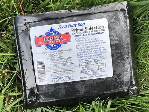 Halshans Premium Prime Selection—Beef, Chicken & Rabbit Blend