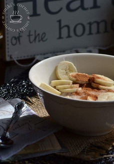 Banana Oatmeal with Cinnamon