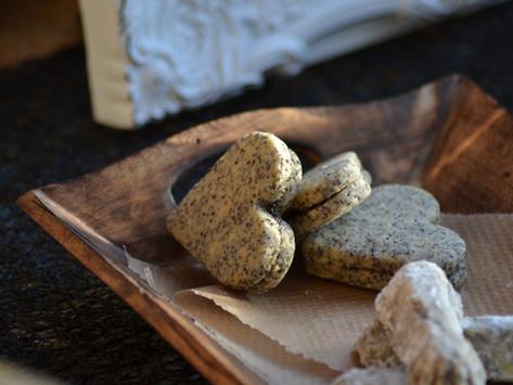 Makova Srca /Heart-Shaped Poppy & Cinnamon Cookies