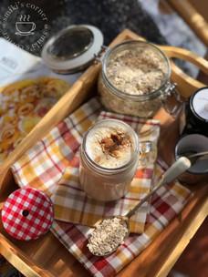 Horchata Overnight Porridge Shake