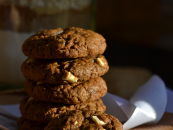 Keksi od Kristaliziranog Djumbira/Chewy Cinammon Cookies