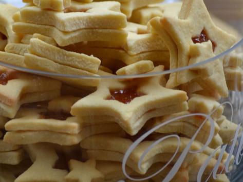 Keksi od fino mljevenog brasna kokosa /Coconut Cookies Star