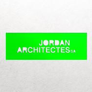 Création du logo pour Jordan architectes SA à Vevey