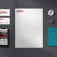 Logo et identité graphique pour BGO SA